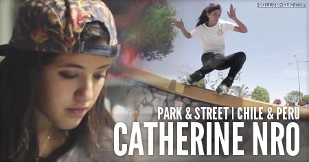 Catherine Nro: Park + Street (2015) by Alexi Ledesma