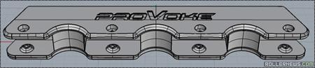 Provoke HB-3: Triple H-Block Frame (Prototype)