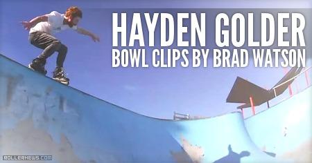 Hayden Golder (Australia): Sic Urethane, Bowl Clips