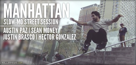 Manhattan Slow-mo Street Session (2014)
