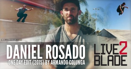 Daniel Rosado: One Day (2015) by Armando Colunga