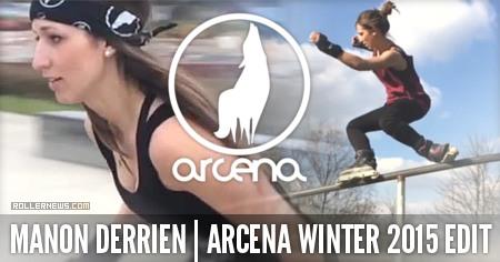 Manon Derrien: Arcena Winter Edit (2015)