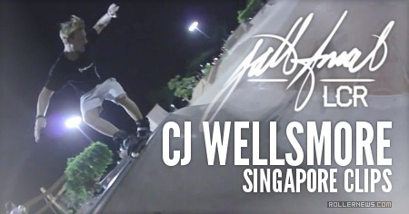 CJ Wellsmore in Singapore (2015): Clips