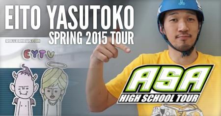 Eito Yasutoko: Spring Tour 2015