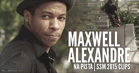 Maxwell Alexandre: Na Pista* (2015) SSM Clips