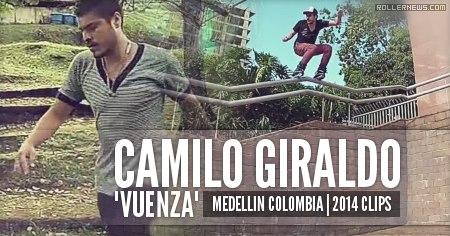 Camilo Giraldo (Medellin, Colombia): 2014 Clips