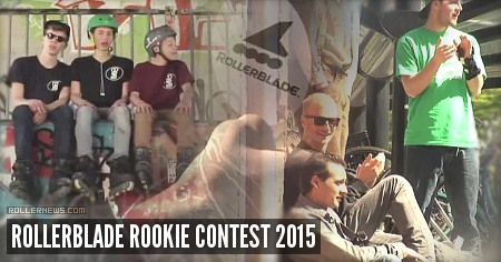 Rollerblade Rookie Contest 2015: Edit & Results
