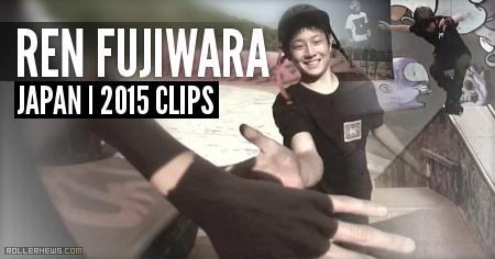 Ren Fujiwara (16, Japan): Okayama BHC Clips (2015)