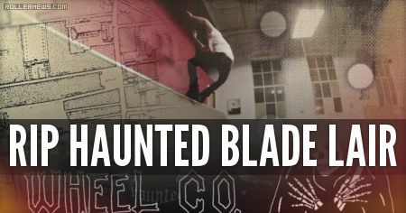 RIP Haunted Blade Lair (2015) by Brad Oz
