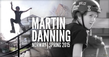 Martin Danning (14, Norway): Spring 2015 Clips