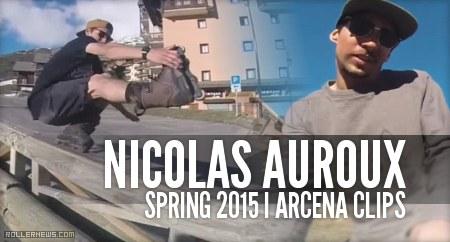 Nicolas Auroux (France): Spring 2015, Arcena Clips