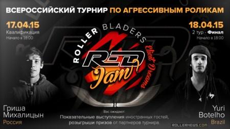 Spartak Alemasov @ Red Jam 2015 (Siberia)