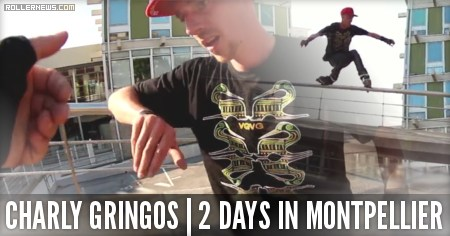 Charly Gringos: 2 days in Montpellier (France, 2015)