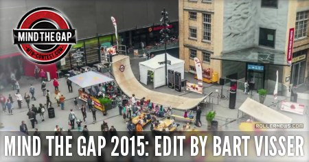 Mind the gap 2015 by Bart Visser