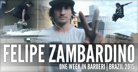 Felipe Zambardino (31): 1 Week in Barueri (Brazil, 2015)