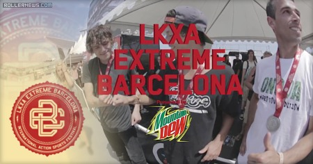 LKXA Barcelona Extreme 2015: Men Park Highlights