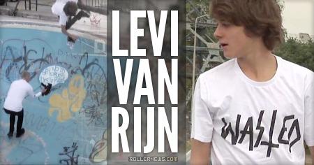 Levi van Rijn: Wasted Edit by Cavin Brinkman (2015)