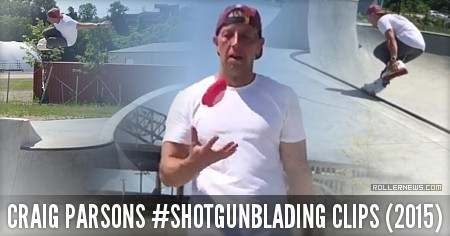 Craig Parsons (41): #Shotgunblading Clips (2015)