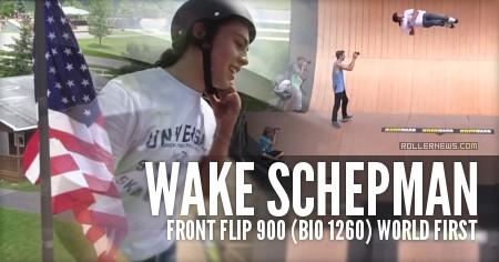 Wake Schepman: Front Flip 900 (Bio 1260) World First