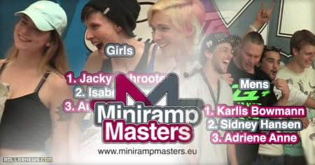 Grindhouse Miniramp Masters 2015: The Backyard Skatepark (Karlsruhe, Germany)