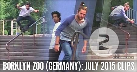Borklyn Zoo (Germany): July Footage (2015)