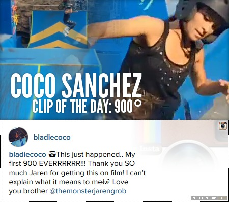 Clip of the day: Coco Sanchez - 900