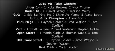 Victorian Inline Titles 2015