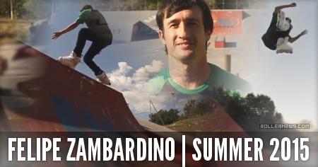 Felipe Zambardino (31, Brazil): Summer 2015 Park Clips