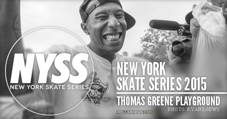 New York Skate Series 2015: 2nd Competition, Thomas Greene Playground (Brooklyn)