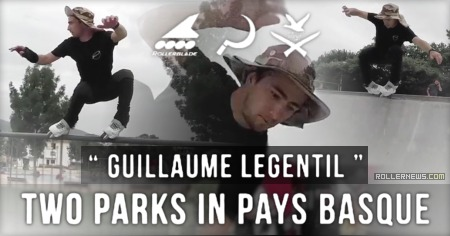 Guillaume Legentil: Two Parks in Pays Basque