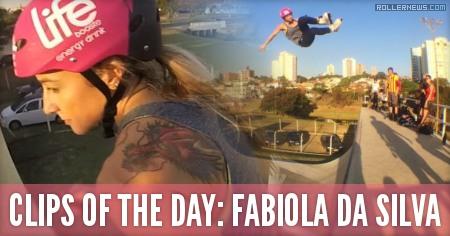Clips of the day: Fabiola da Silva (35, Brazil)