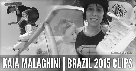 Kaia Malaghini (Sao Paulo, Brazil): 2015 Clips