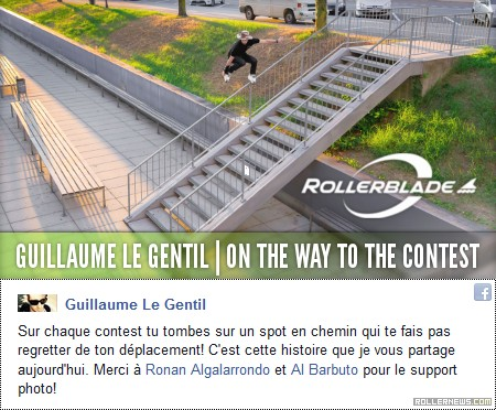 Guillaume le Gentil: On the way to the contest (2015)