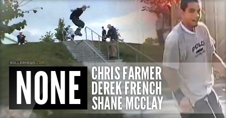 Chris Farmer, Derek French and Shane McClay: None Section (200x) by Mike Franson