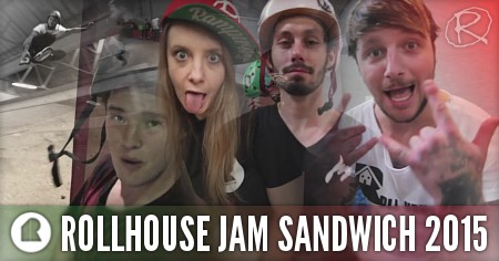 RollHouse Jam Sandwich 2015: Edit by Carl Ambler