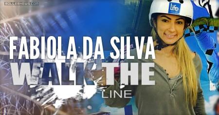 Fabiola da Silva (35, Brazil): Walk the line (2015)