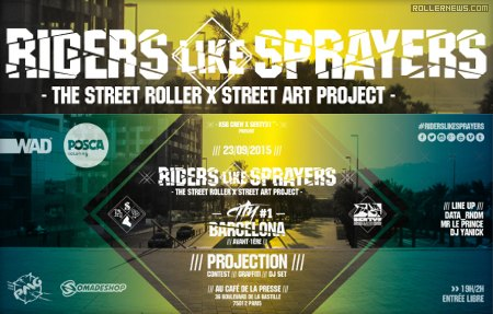 Riders Like Sprayers (2015)