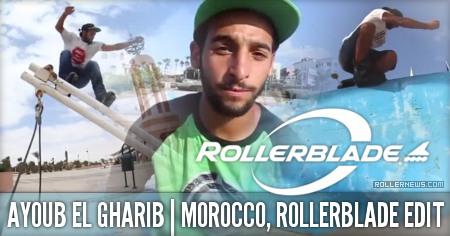 Ayoub el Gharib (Morocco): Rollerblade Street Edit (2015)