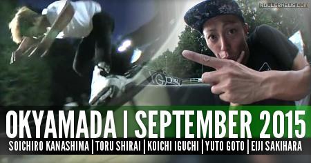 Soichiro Kanashima, Toru Shirai, Koichi Iguchi, Yuto Goto & Eiji Sakihara: OKAYAMADA | September 2015