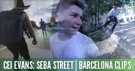 Cei Evans (14): Seba Street, Barcelona Clips (2015)