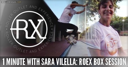 1 minute with Sara Vilella (Spain): Roex Box Session