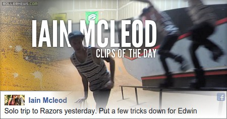 Clips of the day: Iain Mcleod