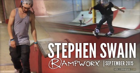 Stephen Swain: Rampworx, September 2015