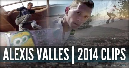 Alexis Valles (Clermont-Ferrand, France): 2014 Clips
