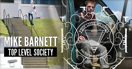 Mike Barnett: Top Level Society (2015)