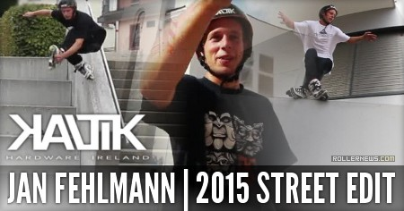 Jan Fehlmann (Switzerland): Kaltik Street Edit (2015)