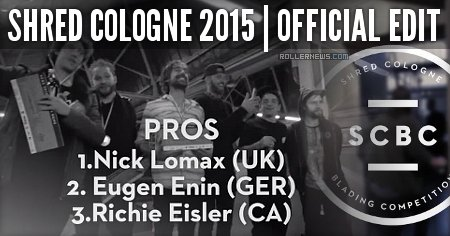 Shred Cologne 2015 (Germany): Official Edit