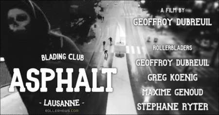 Asphalt Blading Club | Ghostrider