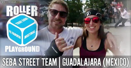 Guadalajara (Mexico) Session w/ Seba Street Team (2015): CJ Wellsmore, Manon Derrien & Antony Pottier