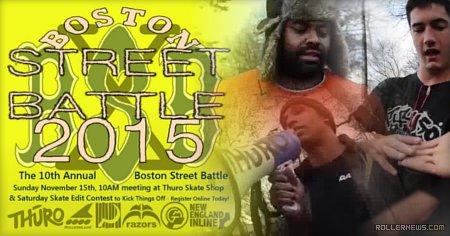 Boston Street Battle 2015: Edits & Results